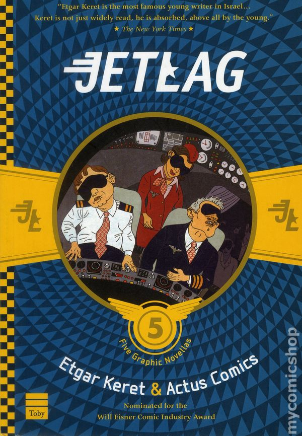 Cover of Jetlag by Etgar Keret