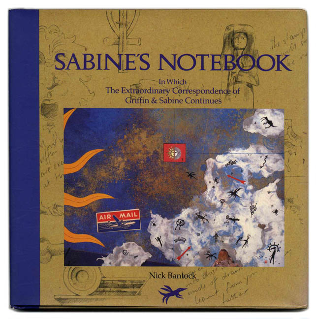 cover of Sabine's Notebook by Nick Bantock