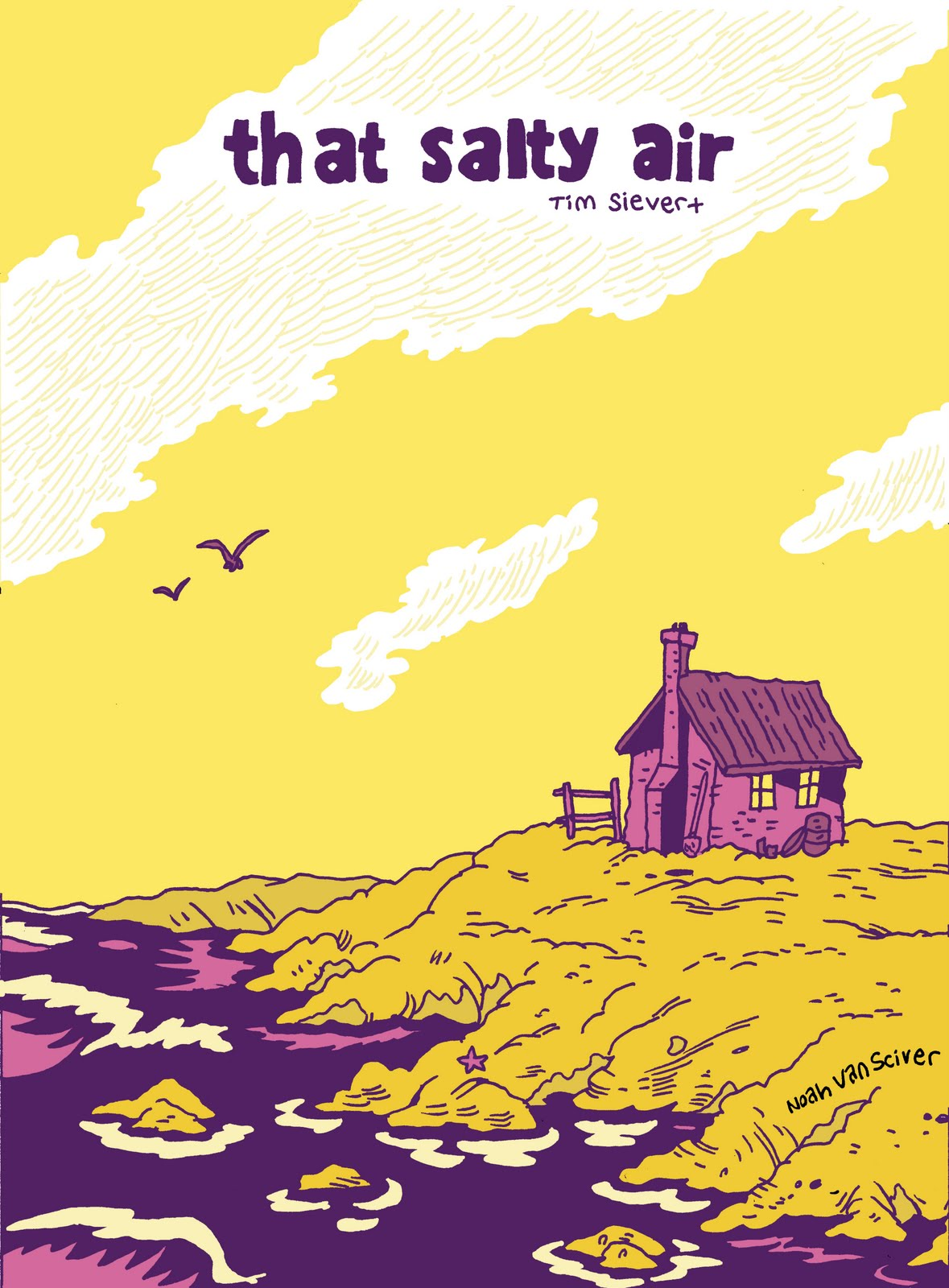 cover of That Salty Air by Tim Sievert
