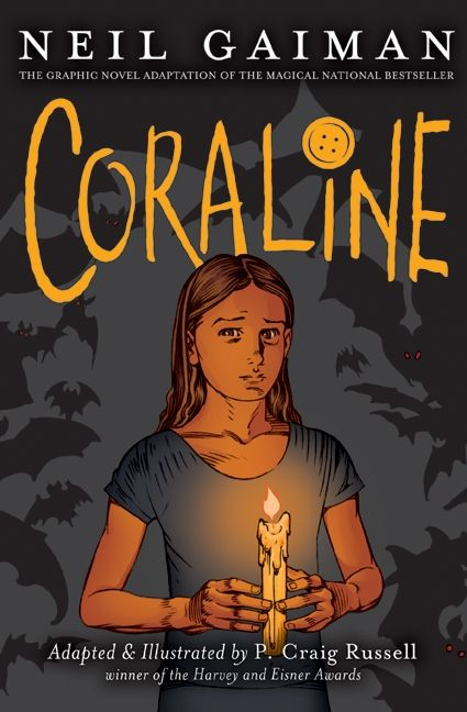 Cover of Coraline by Neil Gaiman and P. Craig Russell