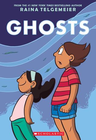 Cover of Ghosts by Raina Telgemeier
