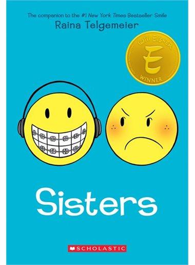 Cover of Sisters by Raina Telgemeier