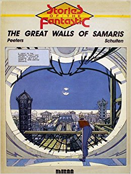 Cover of The Great Wall of Samaris by Francois Schuiten and Benoit Peeters