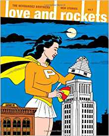 Cover of Love and Rockets- New Stories #1