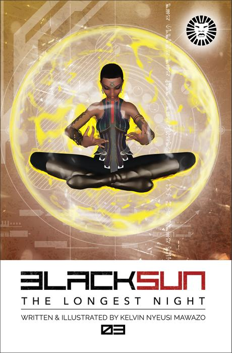 Black Sun Comics Issue 3 The Longest Night (visions) by Kelvin Nyeusi Mawazo