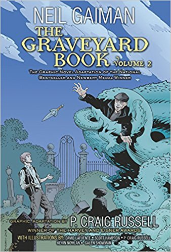 The Graveyard Book Volume 2 by Neil Gaiman and P. Craig Russell
