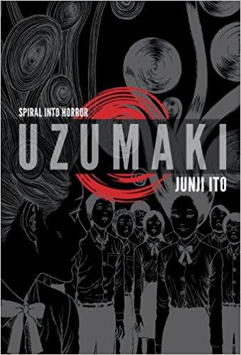 Uzumaki Volumes 1, 2, and 3 by Junji Ito