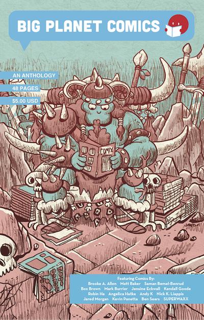 Big Planet Comics Blue Anthology edited by Big Planet Comics