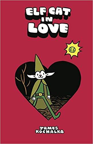Elf Cat in Love by James Kochalka