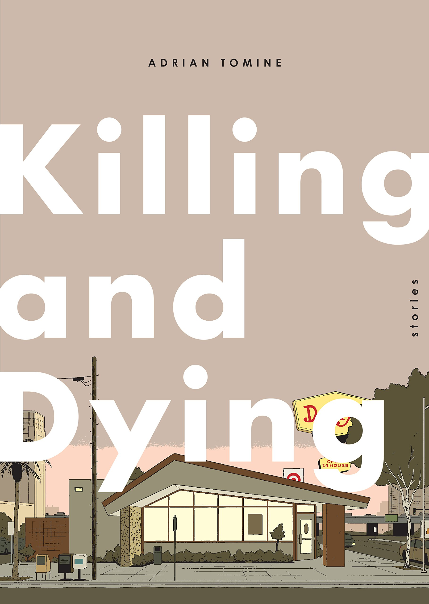 Killing and Dying by Adrian Tomine (softcover)