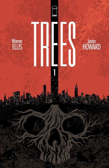 Trees #1 by Warren Ellis and Jason Howard