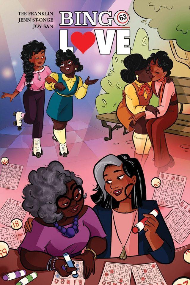 Bingo Love created by Tee Franklin, Jenn St-Onge, Joy San, Cardinal Rae, Erica Schultz