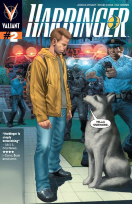 Harbinger Issue 2 by Joshua Dysart, Khari Evans, and Ian Hannin