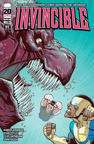 Invincible Issue 91 by Robert Kirkman, Ryan Ottley, Cliff Rathburn, John Rauch