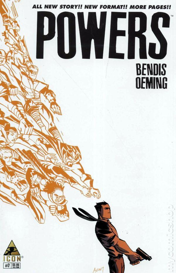 Powers #7 by Bendis and Oeming