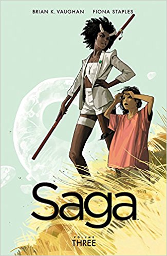 Saga Volume 3 by Brian K Vaughan and Fiona Staples