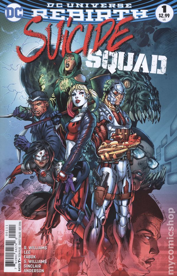 Suicide Squad Issue 1 by R. Williams