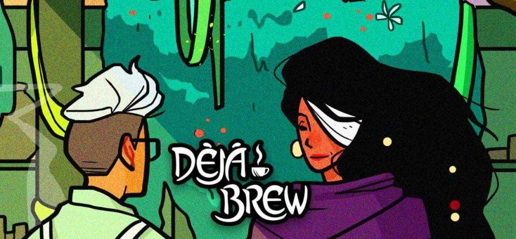 Taneka Stott's Webcomic Deja Brew