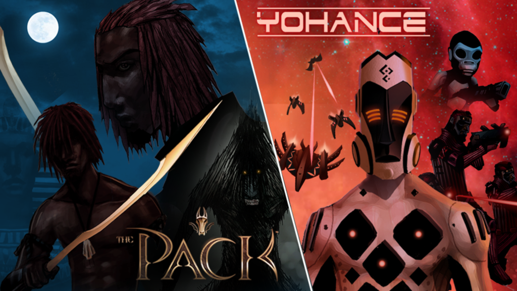 The Pack and Yohance by Paul Louise-Julie