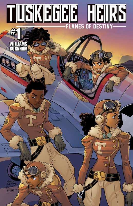 Tuskegee Heirs #1 Flames of Destiny by Greg Burnham and Marcus Williams