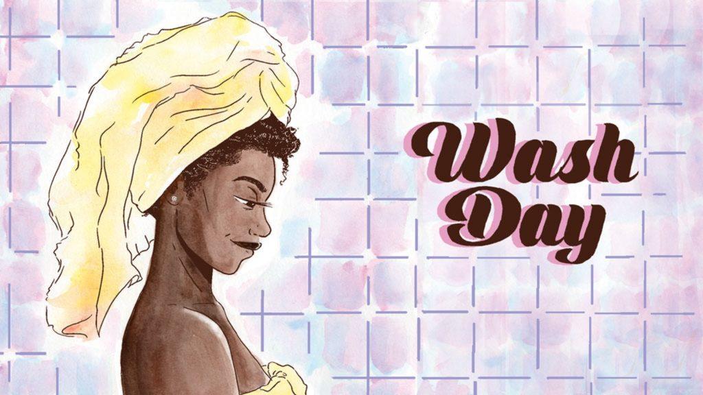 Wash Day by Jamila Rowser