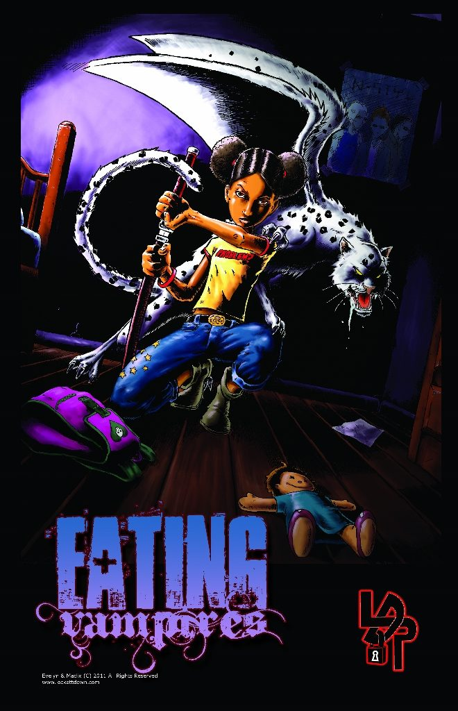 Promo image for Eating Vampires published by Lockett Down Publications