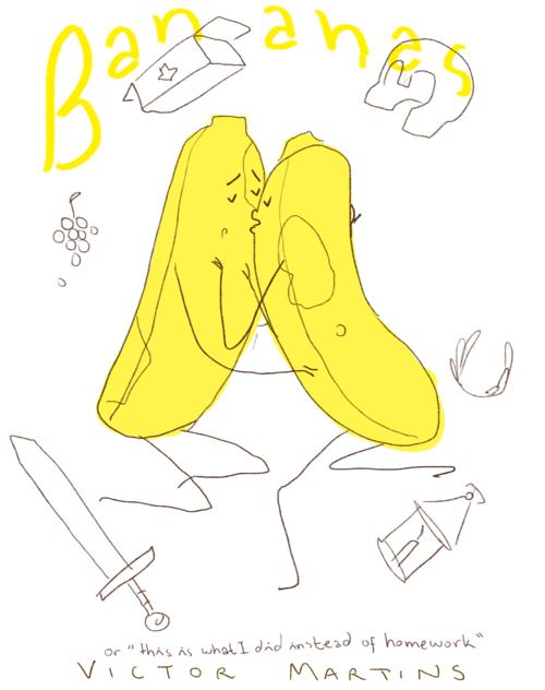 Bananas by Victor Martins