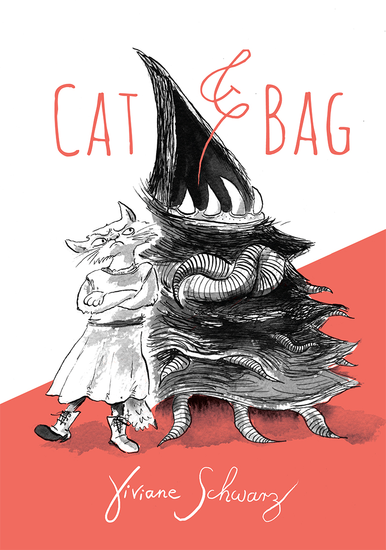 Cat and Bag by Viviane Schwarz
