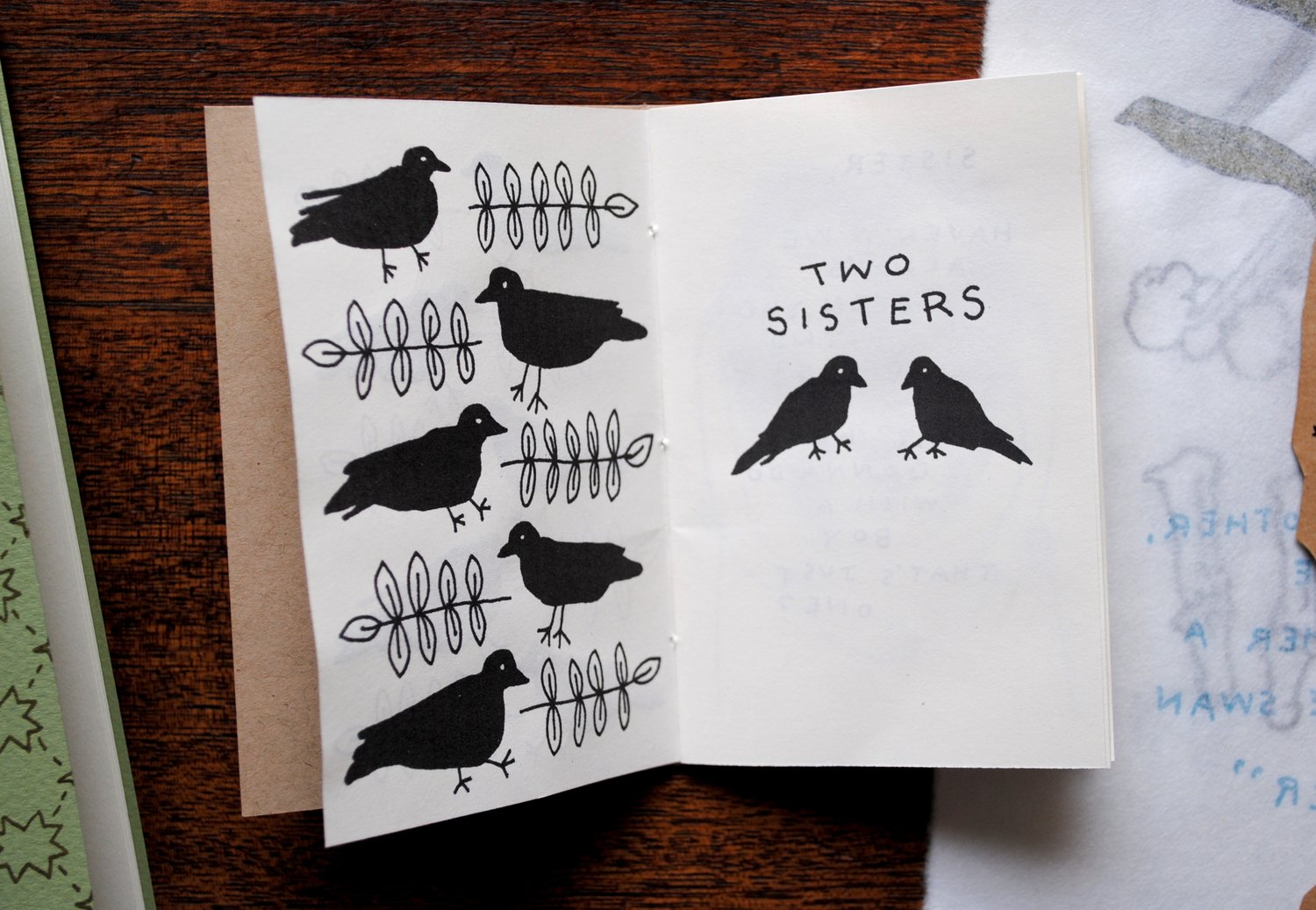 Two Sisters by Laura K. Watson