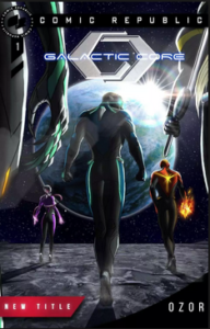 Galactic Core #1 (Emmanuel Ozor)