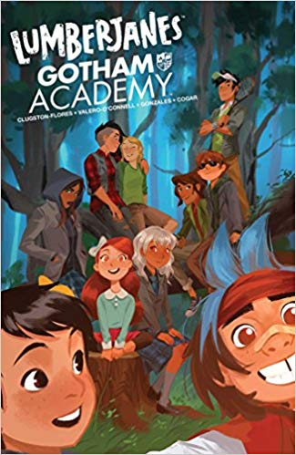 Lumberjanes Gotham Academy by by Chynna Clugston-Flores (Author), Rosemary Valero-O'Connell (Illustrator), Maddi Gonzalez (Contributor), Whitney Cogar (Contributor)