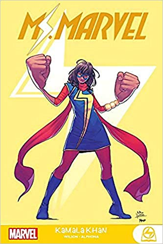 Ms. Marvel Kamala Khan by G. Willow Wilson and Adrian Alphona