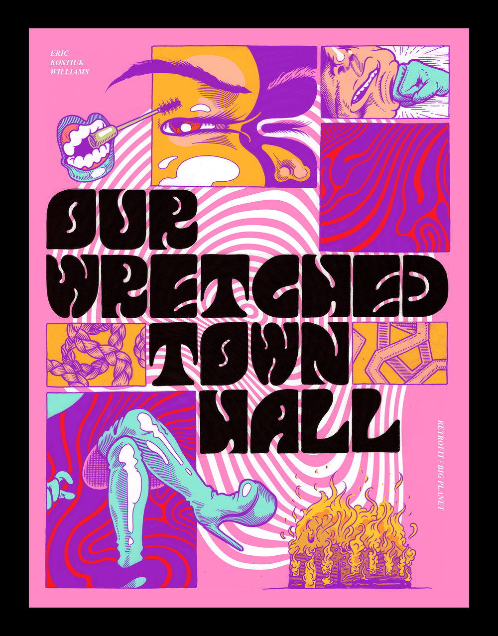 Our Wretched Towl Hall by Eric Kostiuk Williams
