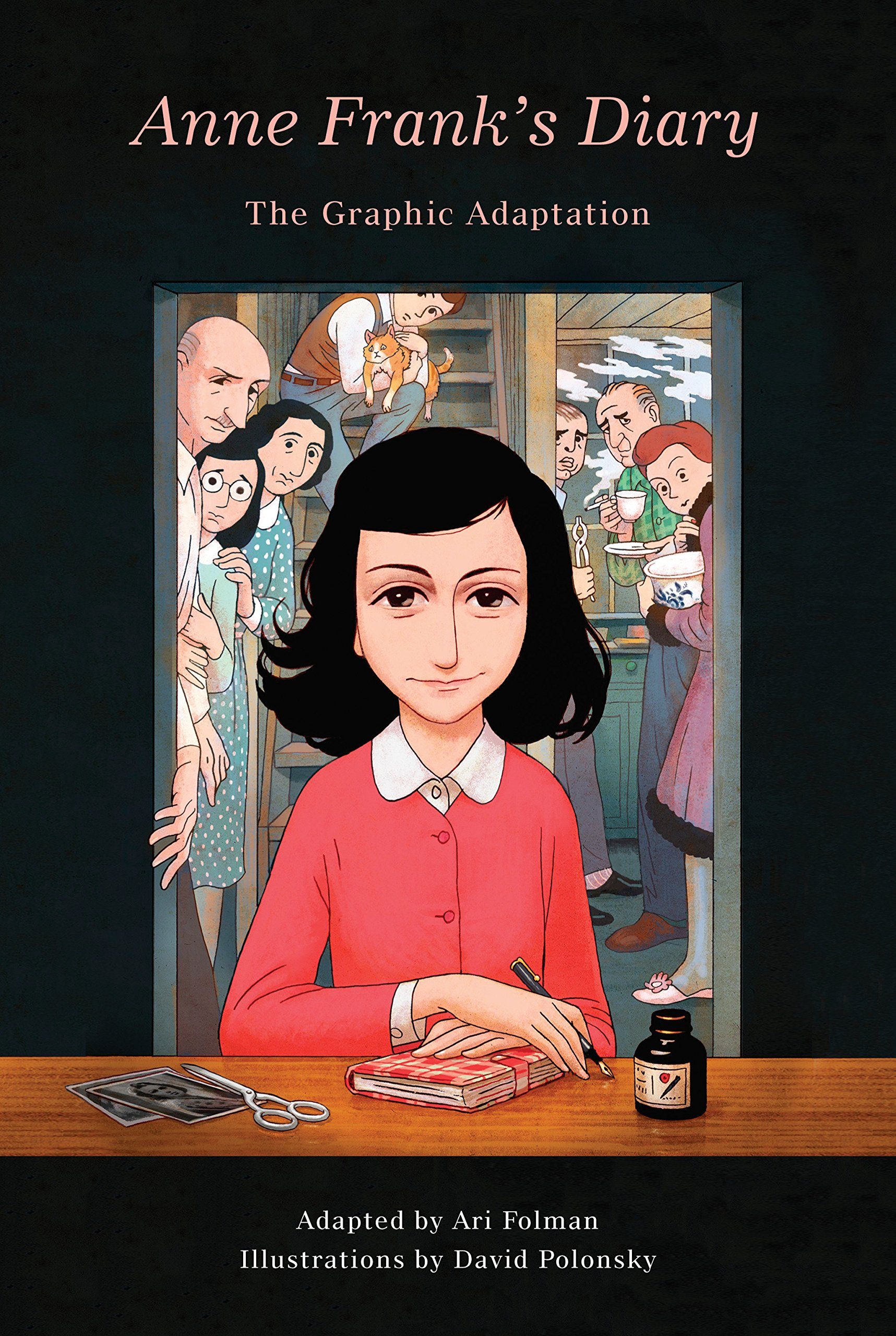 Anne Frank's Diary- The Graphic Adaptation by Anne Frank, adapted by Ari Folman and illustrated by David Polonsky