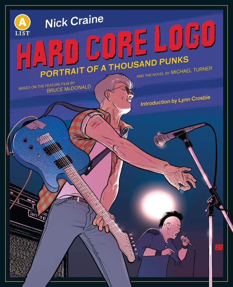 Hard Core Logo by Nick Craine, based on film by Bruce McDonald and novel by Michael Turner
