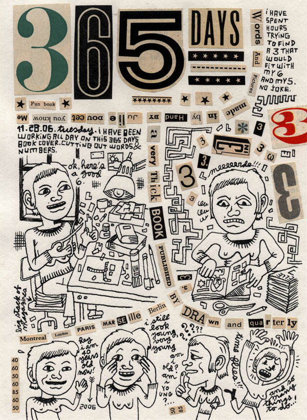 365 Days A Diary by Julie Doucet