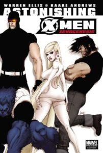 Astonishing X-Men Xenogenesis written by Warren Ellis