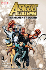 Avengers Academy Permanent Record by Christos Gage and more
