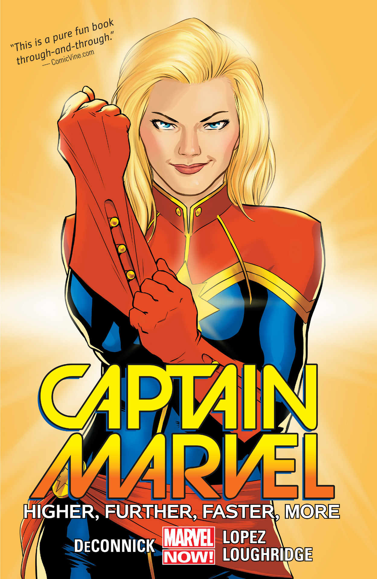 Captain Marvel Higher Further Faster More by Kelly Sue DeConnick