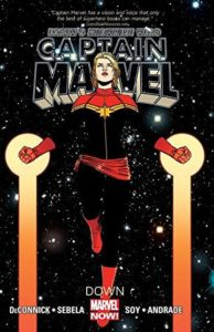 Captain Marvel Volume 2 Down by Kelly Sue Deconnick