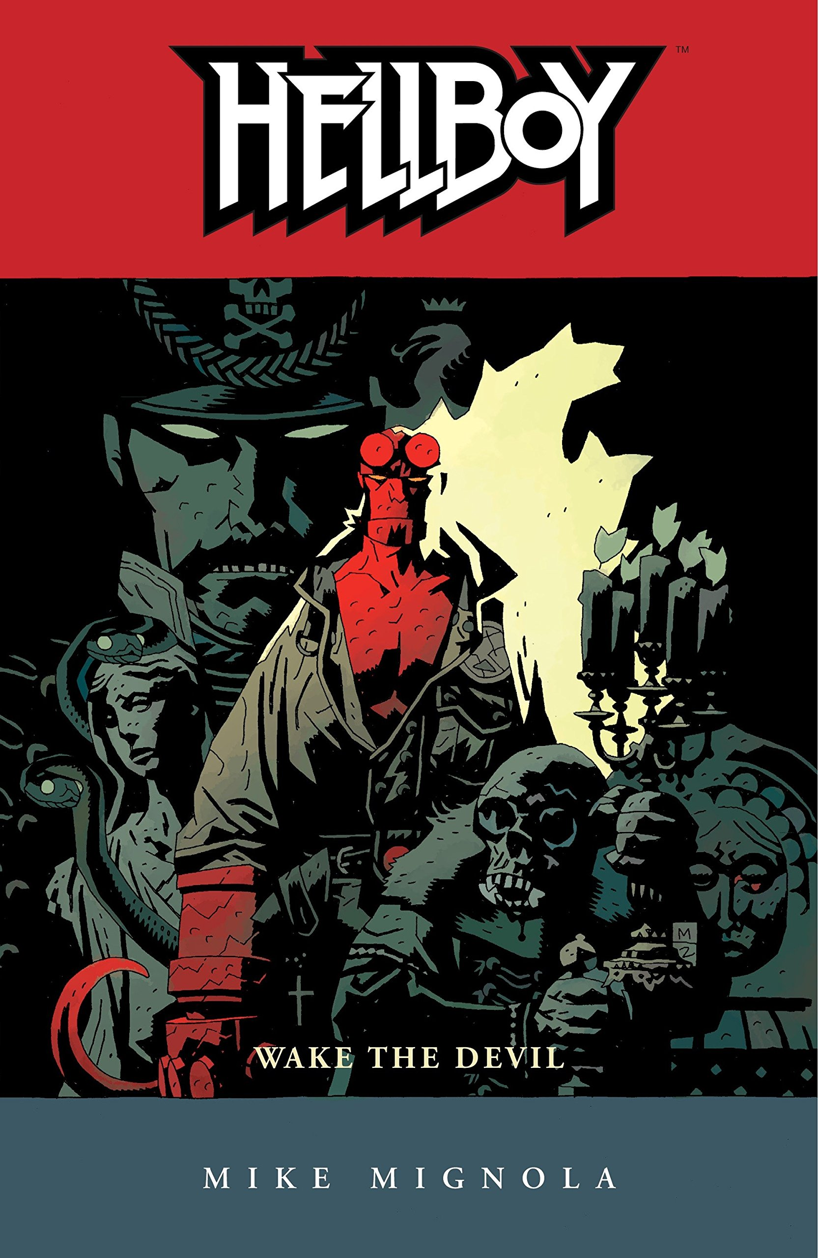 Hellboy vol 2: Wake the Devil story by Mike Mignola