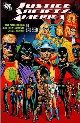 Justice Society of America The Bad Seed written by Bill Willingham