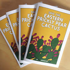 Save the Eastern Prickly Pear Cactus by Emile Compion (Montevarious)
