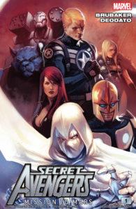 Secret Avengers Mission to Mars edited by Ed Brubaker
