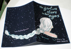 The Girl With the Stars in her Eyes by Ami Moore