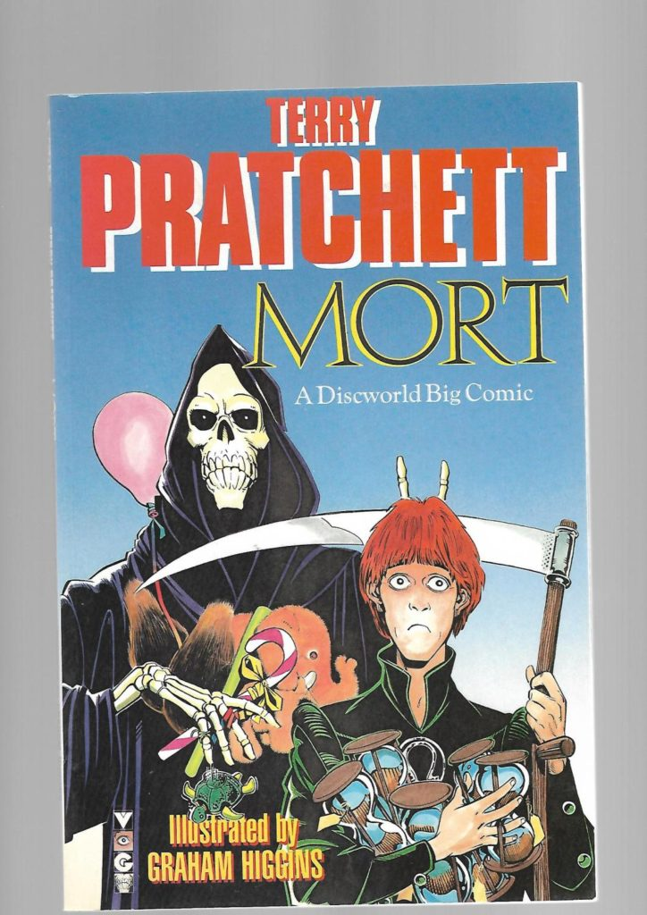 Mort- A Discworld Big Comic by Terry Pratchett illustrated by Graham Higgins