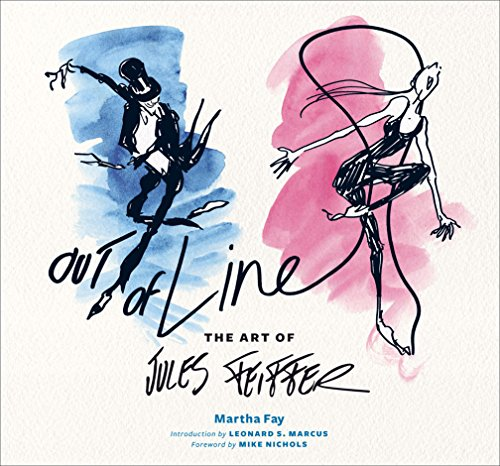 Out Of Line- The Art of Jules Feiffer by Martha Fay