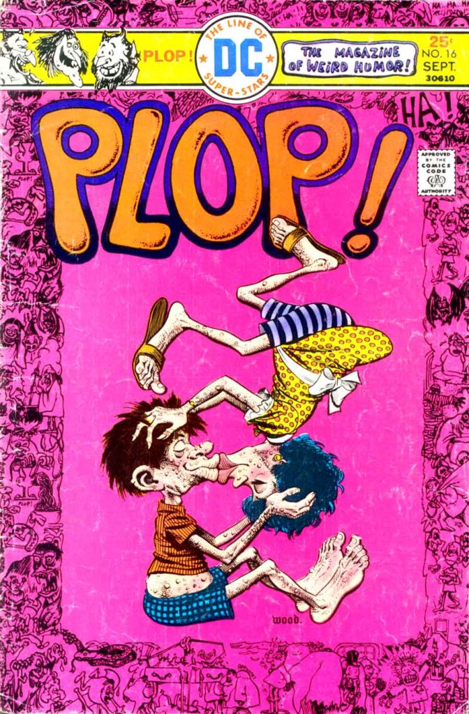 Plop!- The New Magazine of Weird Humor! No. 16 by Joe Orlando