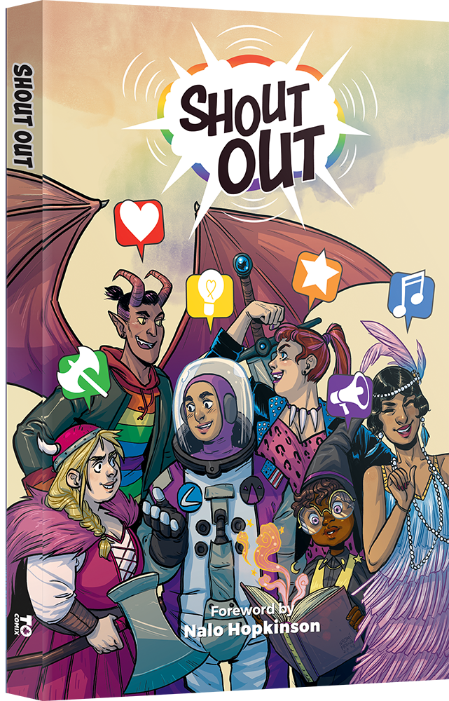 Shout Out published by TO Comix Press