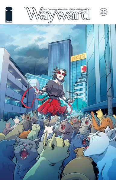 Wayward No. 20 by Zub, Jim (Story) and Cummings, Steven (Line Art), Bonvillain, Tamra (colors) and Peer, Brittany (color assist) Dillon, Marshall (letters) O'Regan, Ann (back matter)